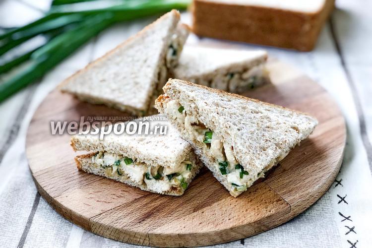 Фото Клаб сэндвич с курицей