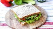 Фото рецепта Сэндвич с овощами и сыром Фета