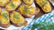 Фото рецепта Гренки с кабачком и сыром