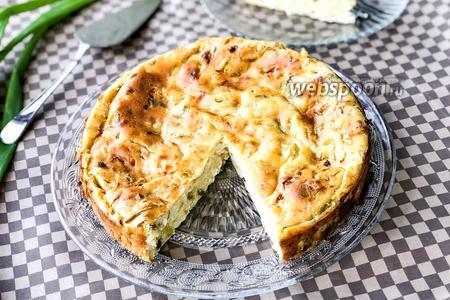 Фото рецепта Капустный пирог с яйцом