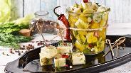Фото рецепта Маринованная моцарелла