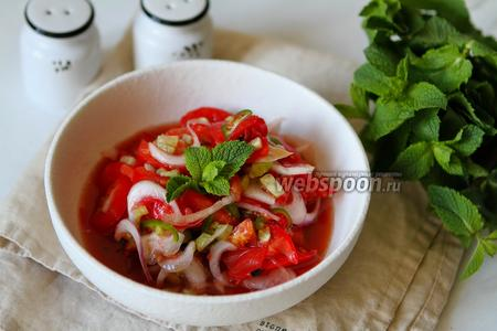 Узбекский салат «Ачичук»