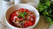 Фото рецепта Узбекский салат «Ачичук»