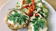 Фото рецепта Жульен в картофеле