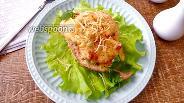 Фото рецепта Куриные лодочки с сыром и овощами