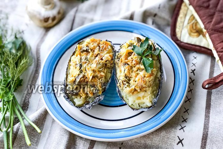 Фото Крошка-картошка с грибами