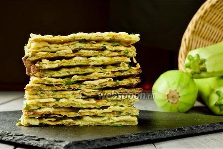 Хлебцы из кабачков. Видео-рецепт
