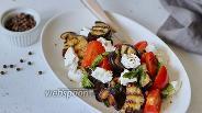 Фото рецепта Сицилийский салат с баклажанами