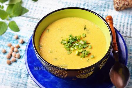 Суп-пюре из нутовой муки