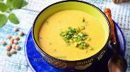 Фото рецепта Суп-пюре из нутовой муки