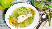 Фото рецепта Куриный суп с кабачками и булгуром