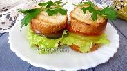 Фото рецепта Овощной сэндвич