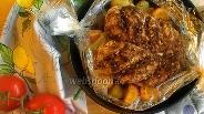 Фото рецепта Куриная грудка с овощами в рукаве