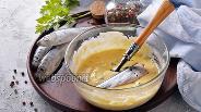 Фото рецепта Кляр для рыбы со сметаной