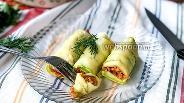 Фото рецепта «Каннеллони» из кабачка с курицей