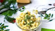 Фото рецепта Макароны с сыром в микроволновке