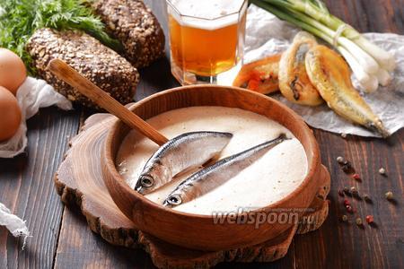 Фото рецепта Кляр на пиве для рыбы