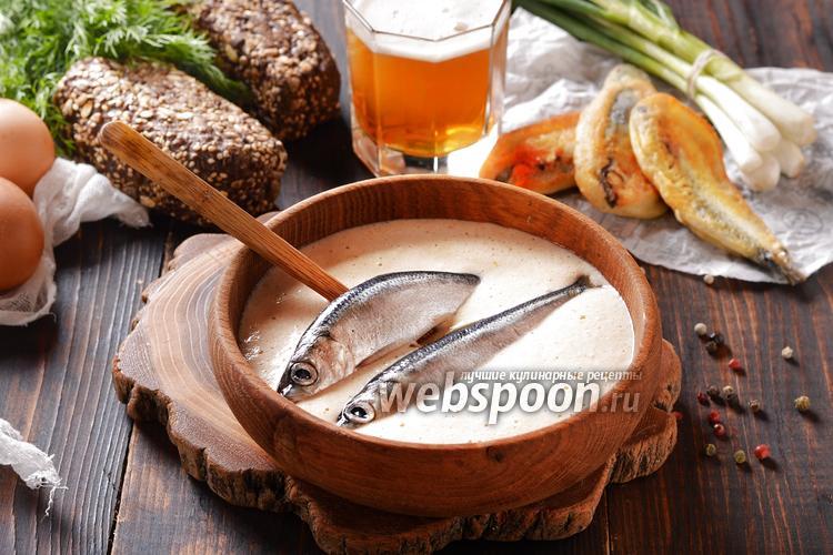Фото Кляр на пиве для рыбы