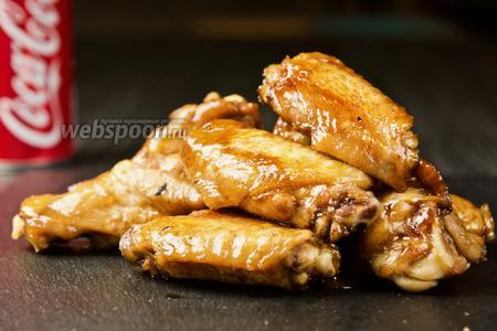 Фото рецепта Курица в Кока-Коле. Видео-рецепт