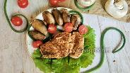 Фото рецепта Грудка индейки на сковороде