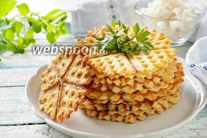 Рисовые вафли