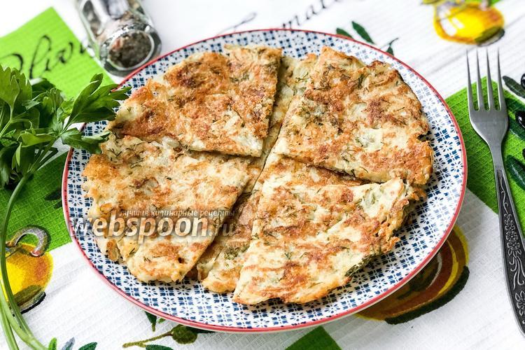 Фото Картофельно-сырные лепёшки