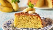 Фото рецепта Банановый кекс в мультиварке