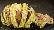 Фото рецепта Фаршированная капуста. Видео-рецепт
