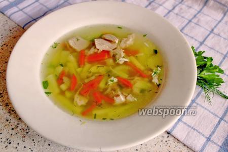 Суп из свинины на кости