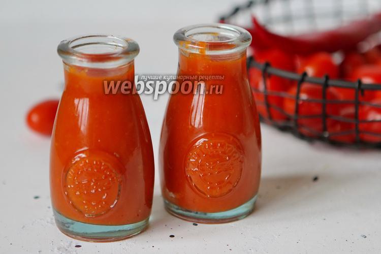 Фото Домашний кетчуп «Остринка»
