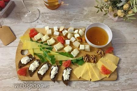Фото рецепта Сырное ассорти