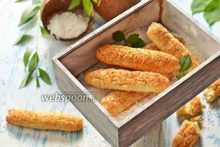 Фото рецепта Кокосовые батончики