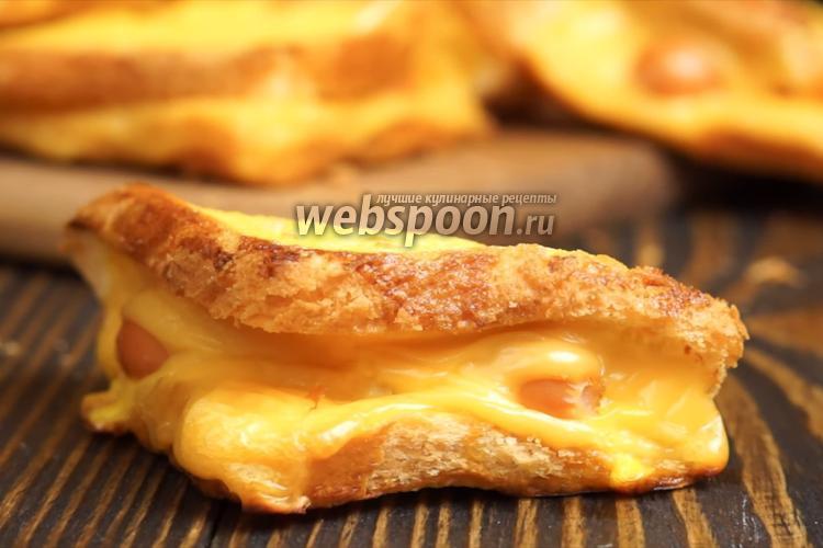 Фото Хот-дог в хлебе. Видео-рецепт