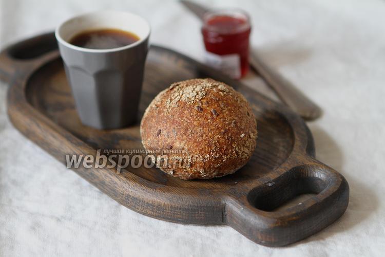Фото Цельнозерновые булочки на закваске с семенами льна