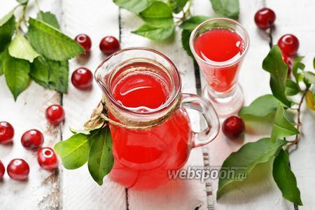 Вишнёвый сок на зиму