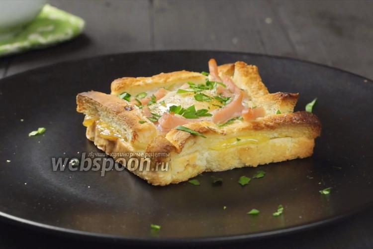 Фото Карбонара-тосты на завтрак. Видео-рецепт