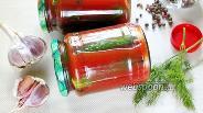 Фото рецепта Огурцы в томатной пасте на зиму