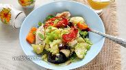 Фото рецепта Овощное рагу с индейкой в духовке