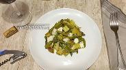 Фото рецепта Тёплый салат с молодым картофелем, спаржей и Фетой