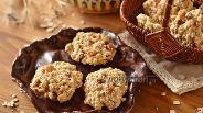 Фото рецепта Овсяное печенье в микроволновке