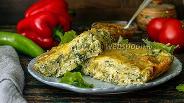 Фото рецепта Запеканка из лаваша с сыром