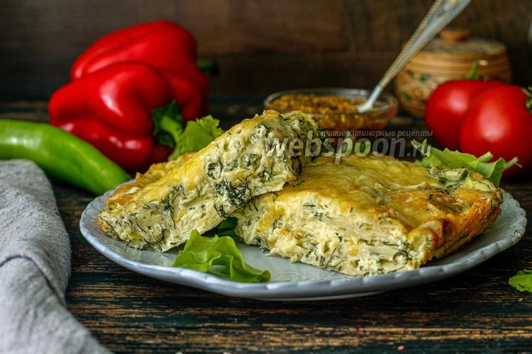 Фото Запеканка из лаваша с сыром
