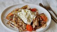Фото рецепта Закуска из баклажанов с сыром Страчателла