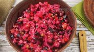 Фото рецепта Винегрет классический с квашеной капустой. Видео-рецепт