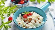 Фото рецепта Рисовая каша в микроволновке