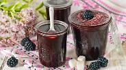 Фото рецепта Варенье из ежевики без варки