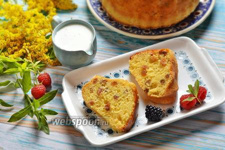 Фото рецепта Манник с мёдом
