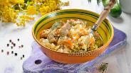Фото рецепта Курица с рисом в микроволновке