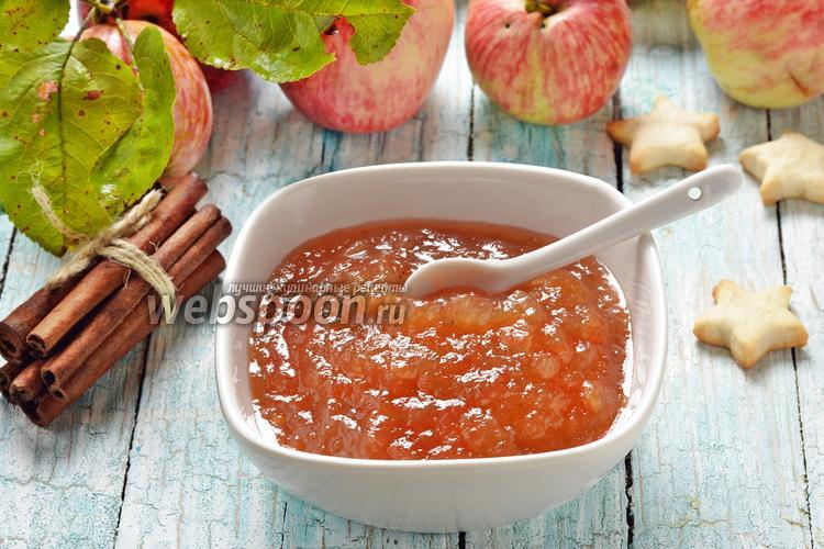 Фото Варенье из яблок в микроволновке