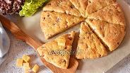 Фото рецепта Сконы с колбасой и сыром